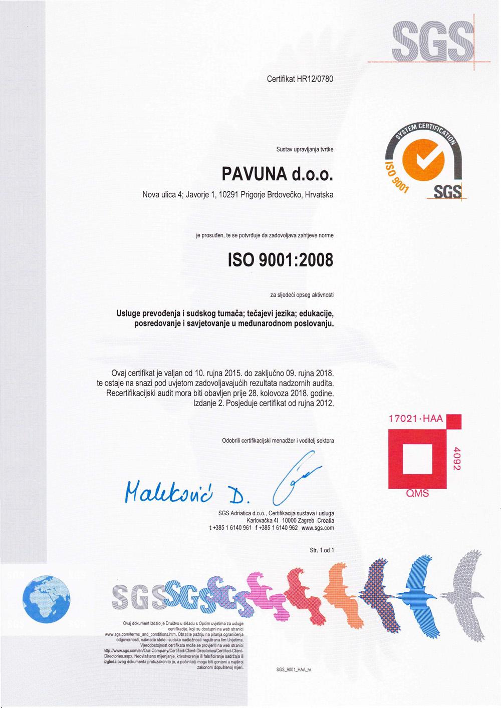 Tečajevi stranih jezika certifikat