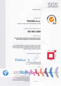 Certifikat tečaj njemačkog engleskog – ispit telc – ubrzani ISO 9001_2008