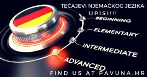 Tečajevi njemačkog jezika - upisi