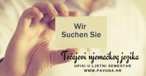 Upisi u ljetni semestar - tečaj njemačkog jezika - Pavuna strani jezici