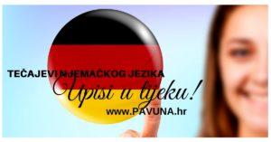 tečajevi njemačkog jezika - upisi u tijeku - pavuna.hr