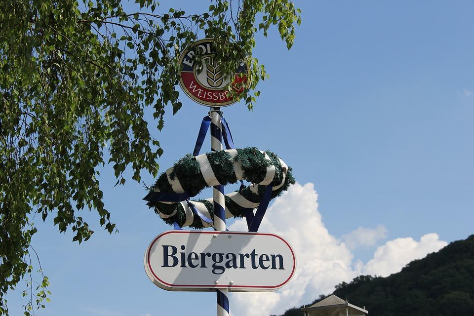 Der Biergarten – vrt pun piva